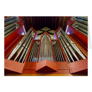 Pipe organ, Christchurch Card