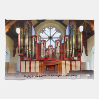 Pipe organ Christchurch Hand Towel