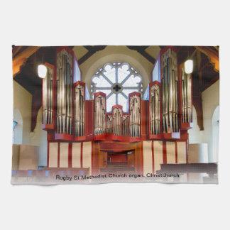 Pipe organ Christchurch Kitchen Towels