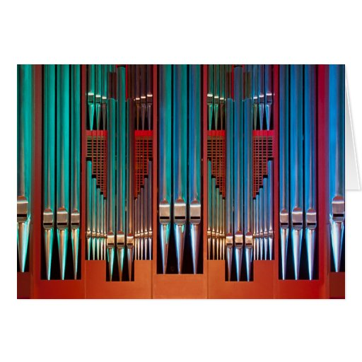 Pipe organ, Christchurch, New Zealand Cards