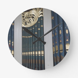 Pipe organ clocks