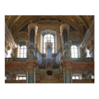 Pipe Organ Dominikanerkirche Postcard