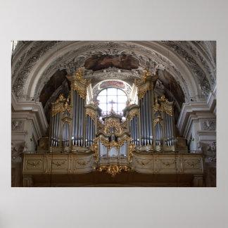 Pipe Organ Dominikanerkirche Print