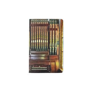 Pipe Organ In Church Pocket Moleskine Notebook