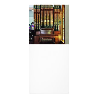 Pipe Organ In Church Rack Card