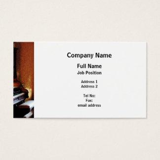 Pipe Organ in Living Room Business Card
