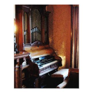 Pipe Organ in Living Room Card
