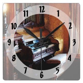 Pipe Organ in Living Room Clock
