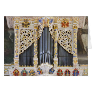 Pipe organ in Marktkirche, Halle Card