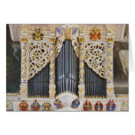 pipe organ in Marktkirche, Halle  greeting card