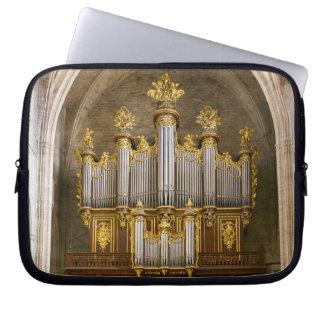 Pipe organ laptop sleeve or iPad case