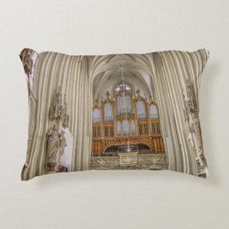 Pipe Organ Maria Am Gestade Decorative Pillow
