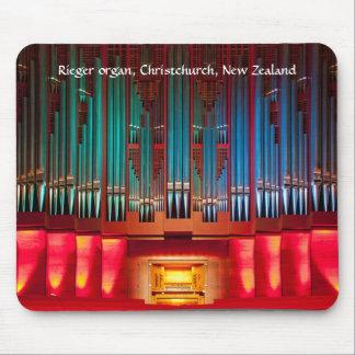 Pipe Organ mousepad - Christchurch Town Hall, NZ