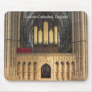 Pipe organ mousepad lincoln cathedral