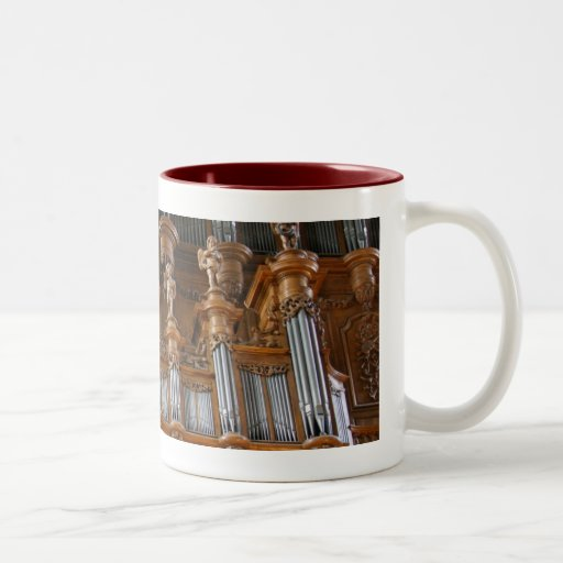 Pipe organ mug - Albi, France