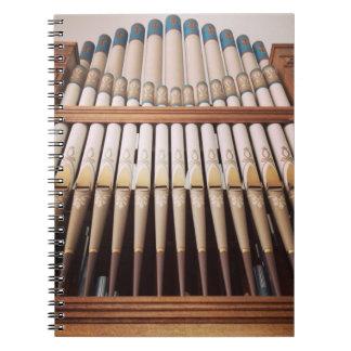 Pipe organ notebook