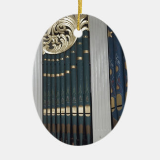 Pipe organ christmas ornaments