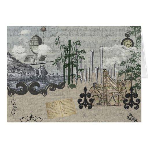 Pipe Organ Pipe Dream Card