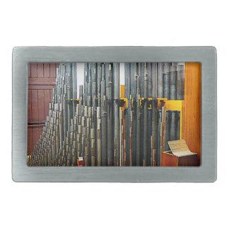 Pipe Organ Pipes Rectangular Belt Buckles