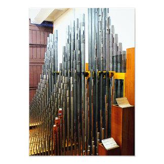 Pipe Organ Pipes Card