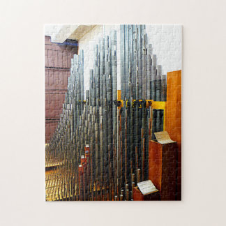 Pipe Organ Pipes Jigsaw Puzzle