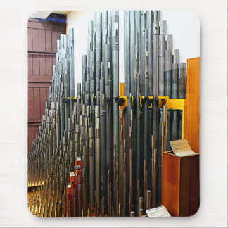 Pipe Organ Pipes Mouse Pad
