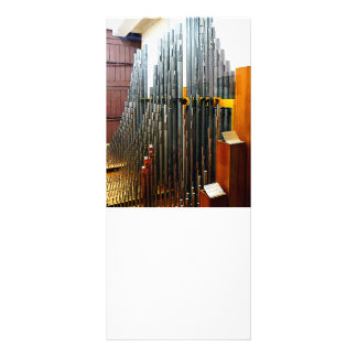Pipe Organ Pipes Rack Card