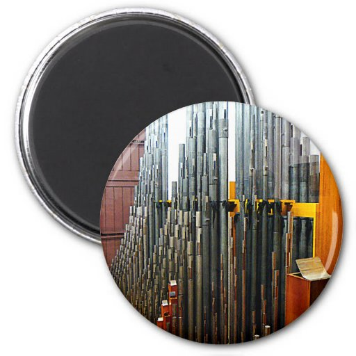 Pipe Organ Pipes Refrigerator Magnets