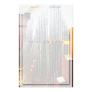 Pipe Organ Pipes Stationery