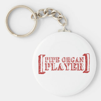 Pipe Organ Player Keychain