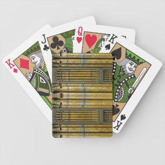 Pipe organ playing cards - Birmingham