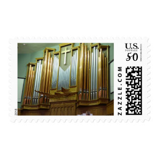 Pipe Organ Postage Stamps