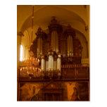 Pipe Organ postcard