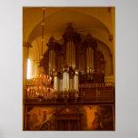 Pipe Organ poster print