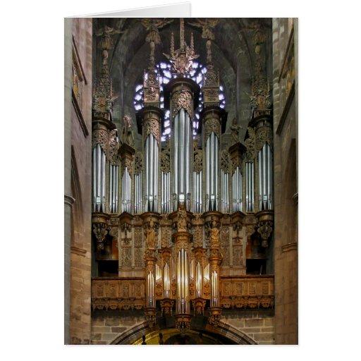 Pipe organ, Rodez Cards