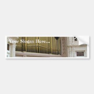 Pipe Organ Spreckels Bumper Stickers