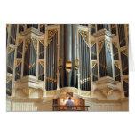 Pipe organ, Sydney Town Hall Greeting Card