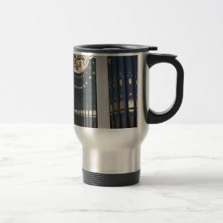 Pipe organ travel mug