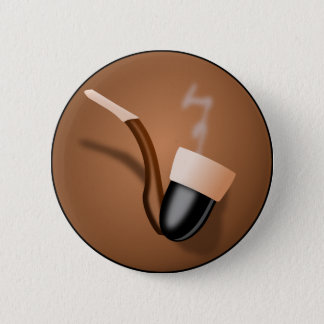 Pipe Pinback Button