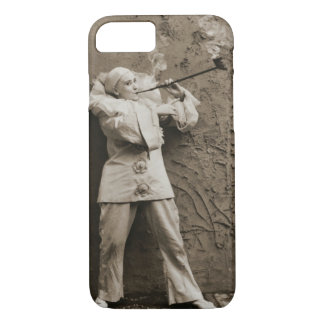 Pipe Smoking Mime 1895 iPhone 7 Case