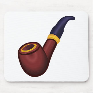 Pipe, smoking, tobacco mouse pad