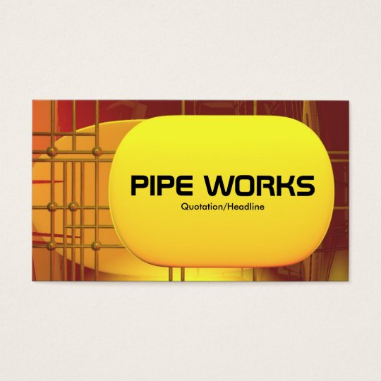 Pipe Works 02 Business Card