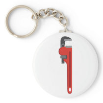 Pipe Wrench Keychain