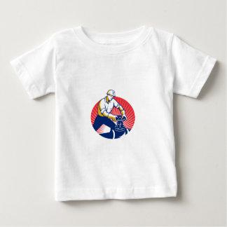 Pipefitter Turning Pipe Valve Retro T Shirt