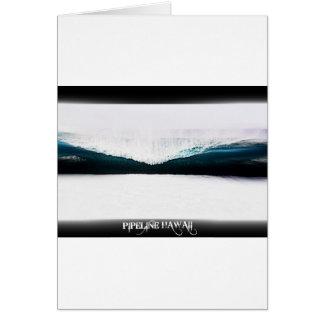 Pipeline Hawaii Greeting Card