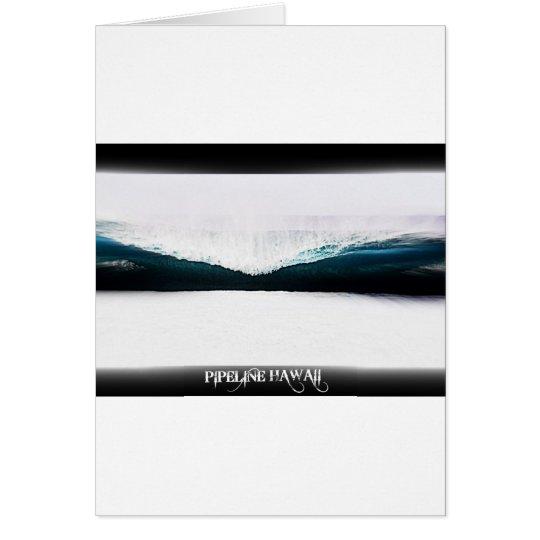 Pipeline Hawaii Card