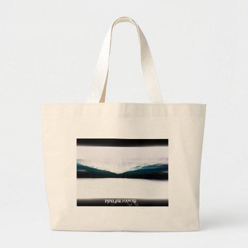 Pipeline Hawaii Jumbo Tote Bag