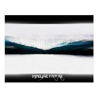 Pipeline Hawaii Postcard