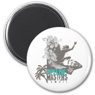 Pipeline Masters 2 Inch Round Magnet