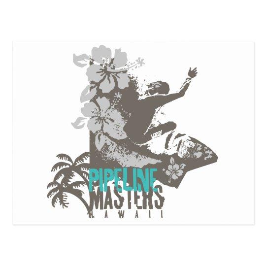 Pipeline Masters Postcard